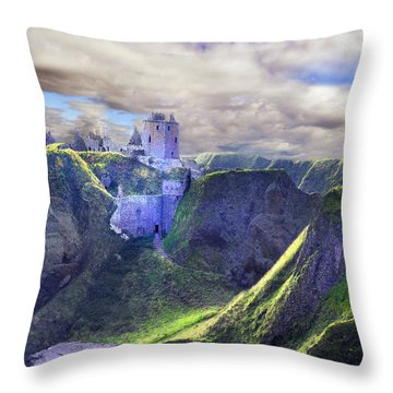 A King's Tale Throw Pillow