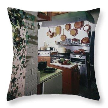 A Kitchen Throw Pillow