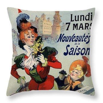 A La Place Clichy Throw Pillow