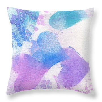 A Lace Of Hearts. Throw Pillow
