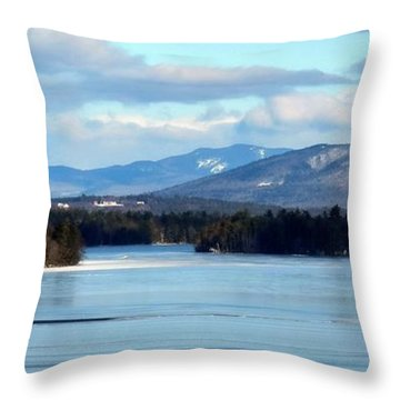 A Land Of Beauty Throw Pillow