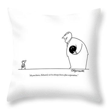 Bowling Ball Drawings Throw Pillows