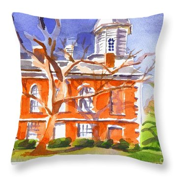 A Late Autumns Saturday Afternoon Throw Pillow by Kip DeVore