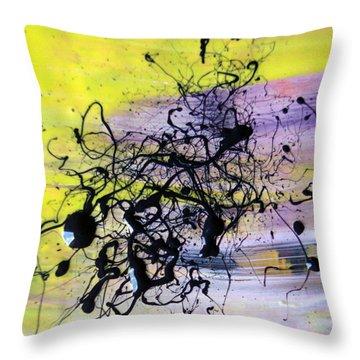 A Lemon And Her Major Depressive Episodes  Throw Pillow by Sir Josef - Social Critic - ART