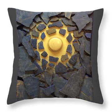 A Lesser Light To Rule The Night Throw Pillow