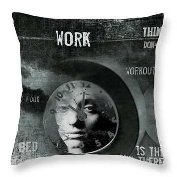 A Life Throw Pillow by Gun Legler