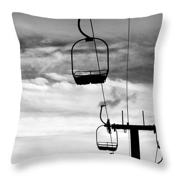 A Lift Throw Pillow