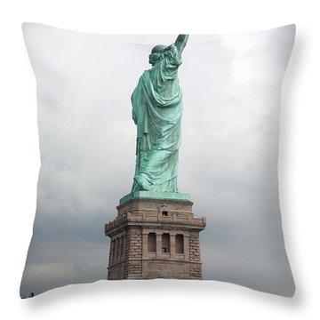 A Light Of Hope Throw Pillow