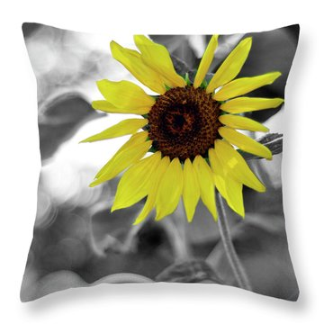'a Little Color In Your Day' Throw Pillow
