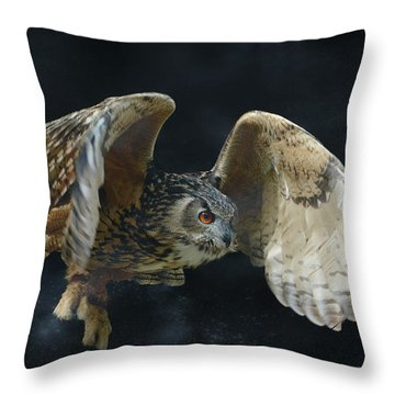 A Little Night Magic Throw Pillow
