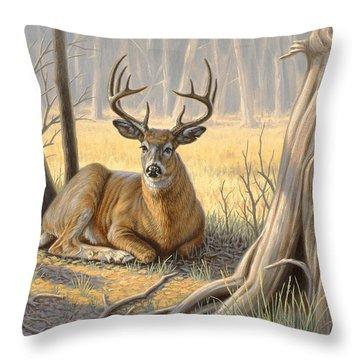 Whitetail Deer Throw Pillows