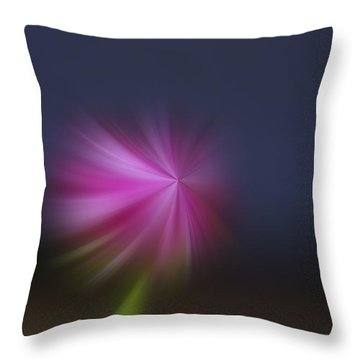 A Little Whirled Lollipop Throw Pillow by Jeff Swan