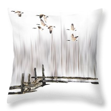 A Little Winter Magic Throw Pillow