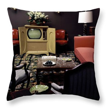 A Living Room Throw Pillow