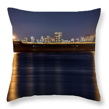 A Long Journey Ahead - By Sabine Edrissi Throw Pillow