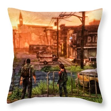 A Long Journey Throw Pillow by Joe Misrasi