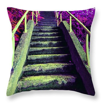 A Long Way 3 Throw Pillow