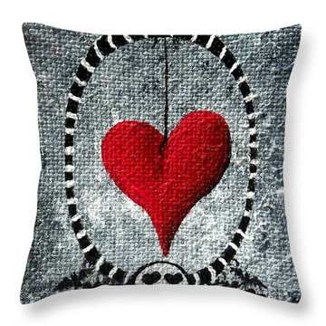 A Love Story 5 Throw Pillow