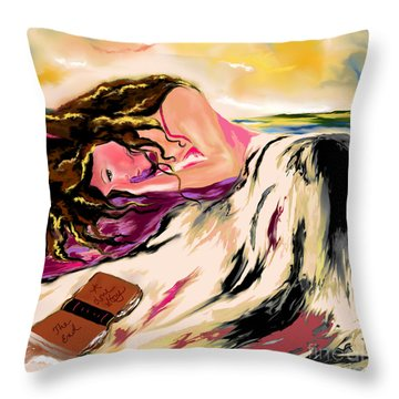 A Love Story  Throw Pillow by Lori  Lovetere