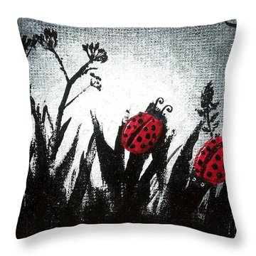 A Love Story No 14 Throw Pillow