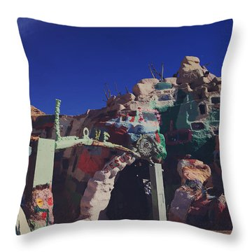 A Loving Entrance Throw Pillow by Laurie Search