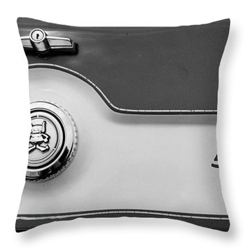 Throw Pillow featuring the photograph A M C 1972 Gremlin Marque by John Schneider