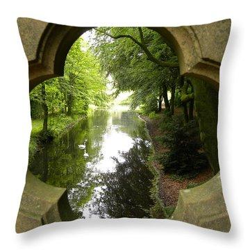 A Magical Place Throw Pillow