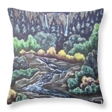 A Majestic World Throw Pillow