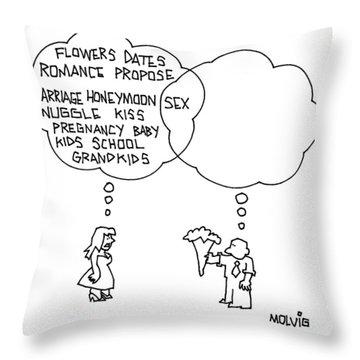 Pregnancy Throw Pillows