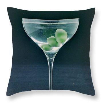 A Martini Throw Pillow