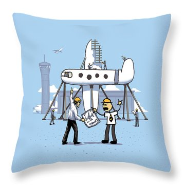 A Matter Of Perspective Throw Pillow