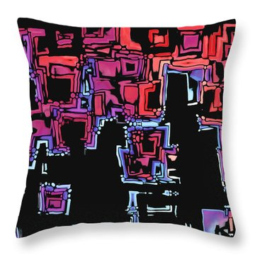 A Maze Zing - 01c07a Throw Pillow