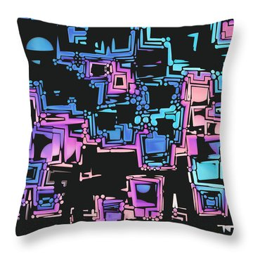 A Maze Zing - 03c01 Throw Pillow