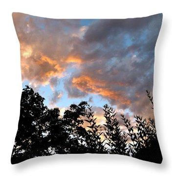 A Memorable Sky Throw Pillow by Will Borden