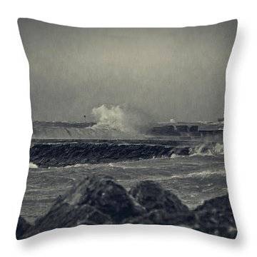A Mighty Wind Throw Pillow by Everet Regal