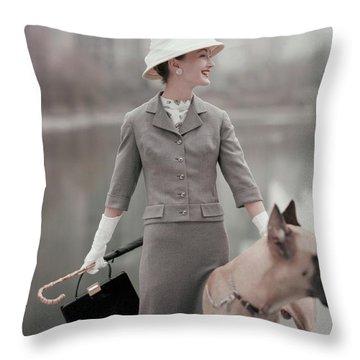 Great Dane Throw Pillows