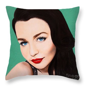 A Modern Classic Throw Pillow