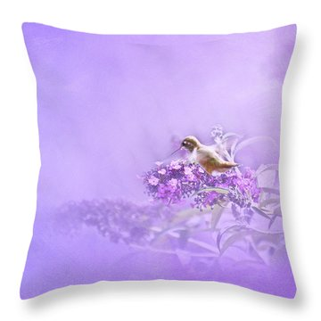 A Moment Throw Pillow