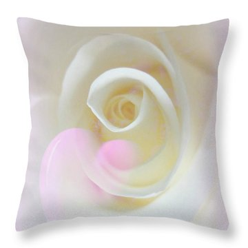 A Mother For Always Throw Pillow by Shirley Sirois