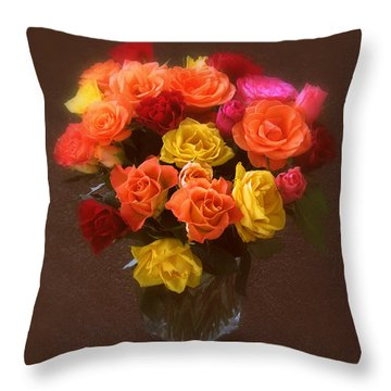 A Mother's Gift Throw Pillow