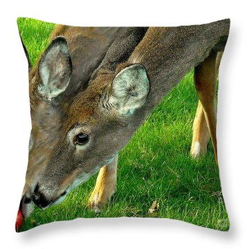 A Mother's Love Throw Pillow
