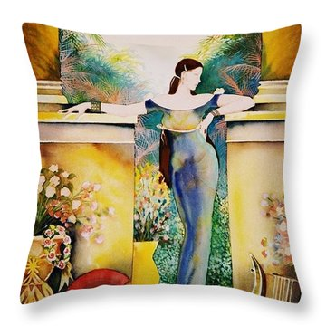 A New Dawn Throw Pillow