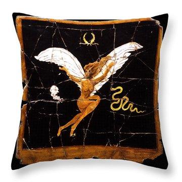 A New Dawn Throw Pillow by Steve Bogdanoff