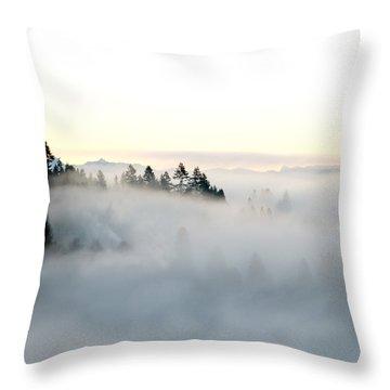 A New Day Throw Pillow by Lisa Knechtel