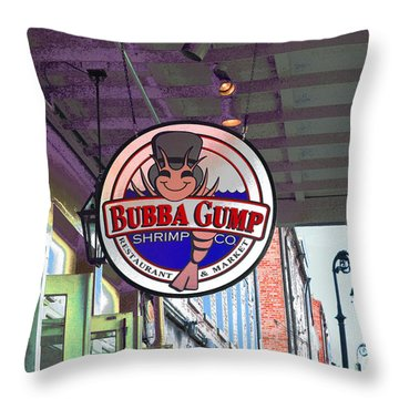 A New Orleans Favorite Throw Pillow by Alys Caviness-Gober