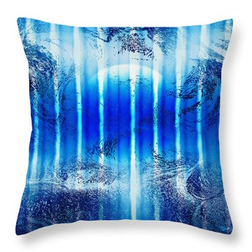 Realm Of Tranquility Throw Pillow by Kellice Swaggerty