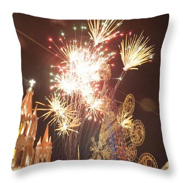A Night To Celebrate Throw Pillow