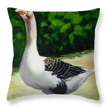 A Noble Throw Pillow