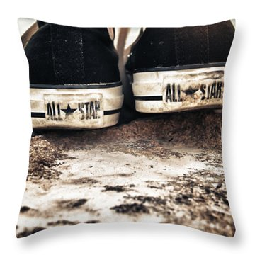A Pair Of Stars Throw Pillow by Stelios Kleanthous
