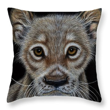 A Pale Future King Throw Pillow